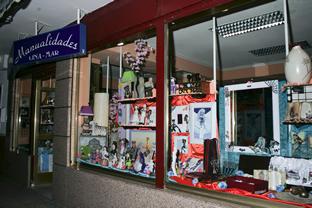 Escaparate tienda Regalos Linamar